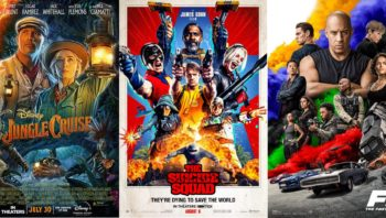 August Summer Blockbusters Do Not Disappoint.  Differentiated release strategies point to varying degrees of success for F9, JUNGLE CRUISE and THE SUICIDE SQUAD